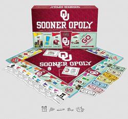 University of Oklahoma Sooners Monopoly Game