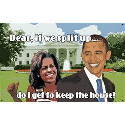 Obama White House Sign