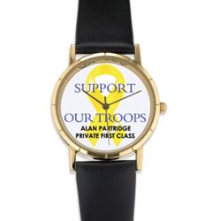 Personalized Support Our Troops Watch
