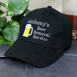 Embroidered Beer Removal Hat