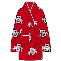 Ladies' Ohio State University All Over Print Cozy Robe