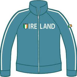 Ladies' Ireland Shield Jacket