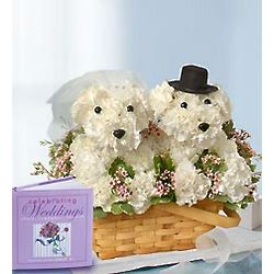 Love You Fur-ever Canine Wedding Flowers with Book
