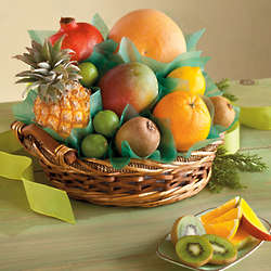 Tropical Fruit Medley Gift Basket