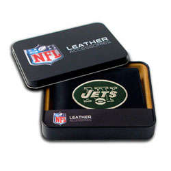 New York Jets Embroidered Bifold Wallet