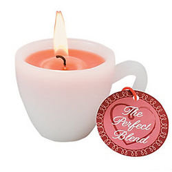 Coffee Cup Mini Candle