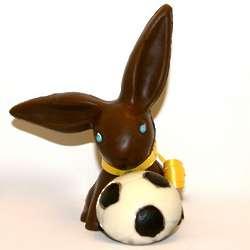 Easter Soccer Bunny