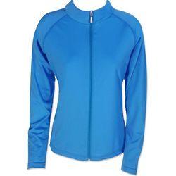 Women's UV Long Sleeve Zip Up Swim Shirt