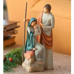 Holy Family Willow Tree Figurine