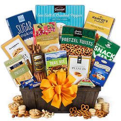 Men's Sweet and Salty Gourmet Gift Basket