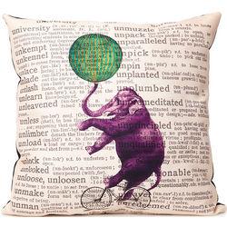 Circus Elephant Pillow