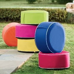 Portable Inflatable Outdoor Ottoman