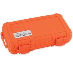 Orange Five Cigar Caddy Travel Humidor