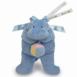 Flatopotamus Pull Down Musical Baby Toy