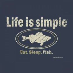 Life is Simple Fishing T-Shirt
