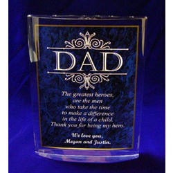 Dad Poetry Gift Plaque