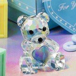Choice Crystal Collection Blue Teddy Bear Baby Shower Favor