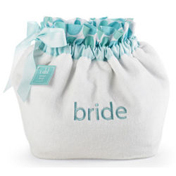 Bride Polka Dot Terry Pamper Pouch
