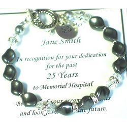 Years of Service Retirement Bracelet