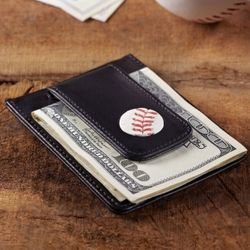 Historic New York Yankees Money Clip Wallet