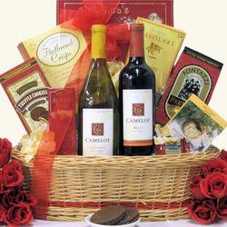 Camelot Duet Wine Gift Basket