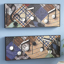 Lively Mirrored Wall Art Duet