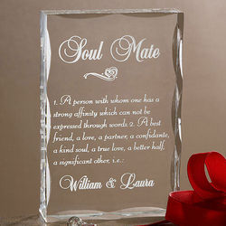Personalized Soul Mate Sculpture