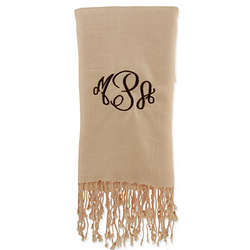 Beige Personalized Pashmina