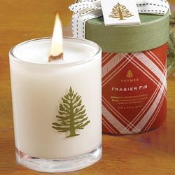 Frasier Fir Scented 9.5-Ounce Wood Wick Candle