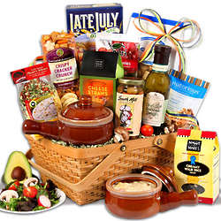 Soup and Gourmet Snacks Gift Basket