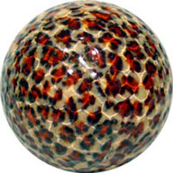 Leopard Print Golf Ball