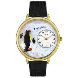 Gold Penguin Watch