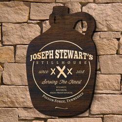 Personalized Blue Ridge Stillhouse Bar Sign