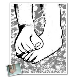 Personalized Etching Art Print