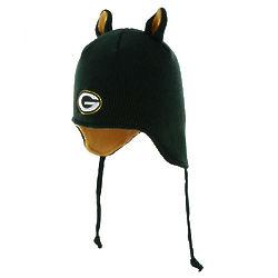 Infant's Green Bay Packers Little Monster Hat