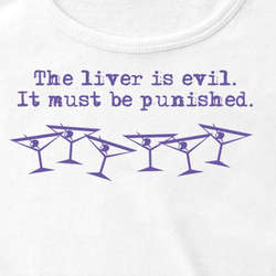 """The Liver Is Evil"" Women's Tank"