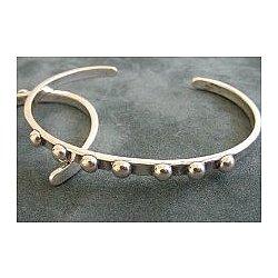 It Will Be Alright Silver Cuff Bracelet