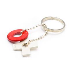 X & O Key Ring