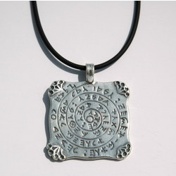 Sterling Silver Direction and Purpose Amulet