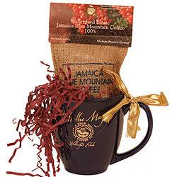Jamaica Blue Mountain Coffee and Mug