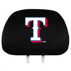 Texas Rangers Headrest Covers