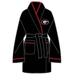 Ladies Georgia Bulldogs Solid Cozy Robe