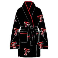 Ladies' Texas Tech All Over Print Cozy Robe