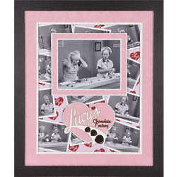 "Lucille Ball ""I Love Lucy"" Framed Chocolate Factory Collage"