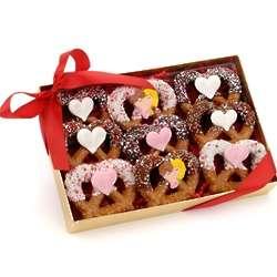 Valentine's Gourmet Pretzel Twists
