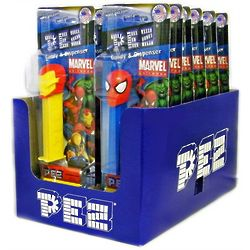 Marvel Superheroes PEZ Dispenser Box