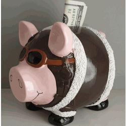 Pilot's Piggy Bank