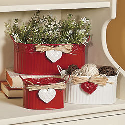 Valentine Containers