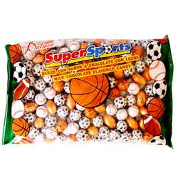 Bag of Assorted Chocolate Sports Balls