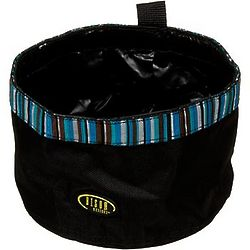 Pet Travel Bowl in Turquoise